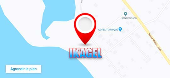 Ikagel sur Google Maps